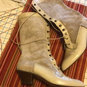 Vintage Granny Boots